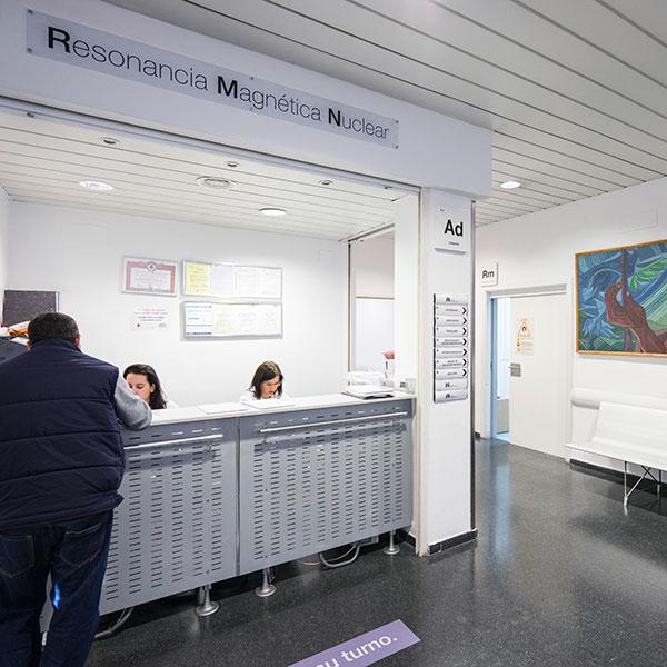 Recepción Resonancia magnética - QD H. Mesa del Castillo - Murcia