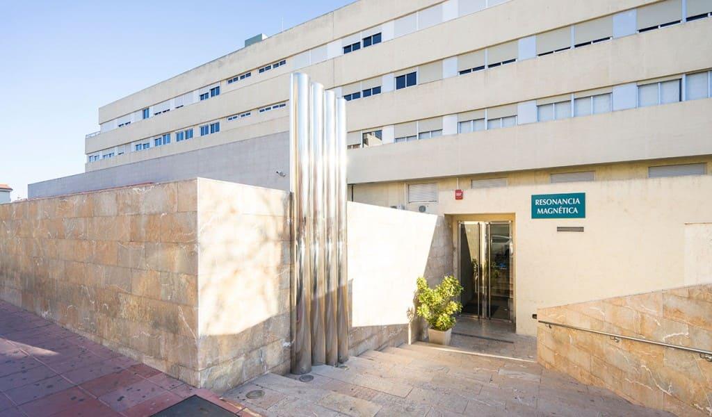 Entrada Resonancia magnética - QD H. de Molina - Murcia